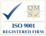 QMS ISO 9001 Registered Company Firm