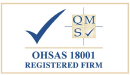 QMS ISO 18001 Registered Company Firm